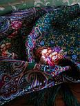 Торжество лета 1694-9, павлопосадский платок шерстяной  с шелковой бахромой, фото 5
