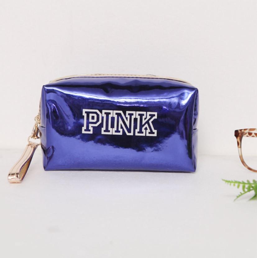 Косметичка PINK синяя