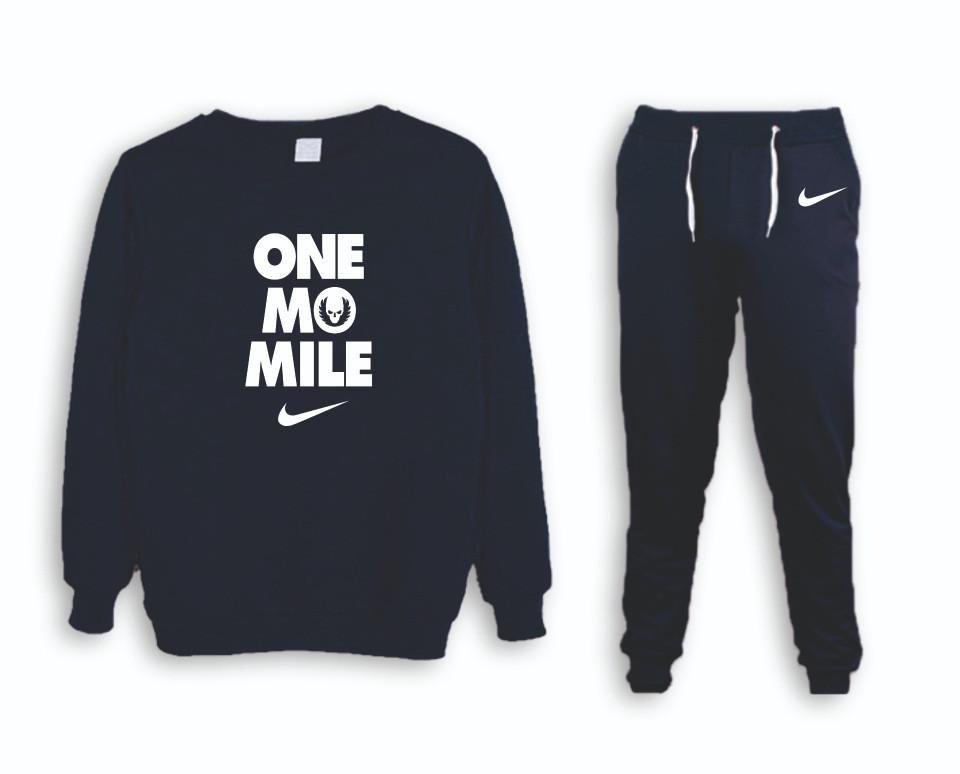 Тренировочный мужской Зимний споривный костюм Nike (Найк)