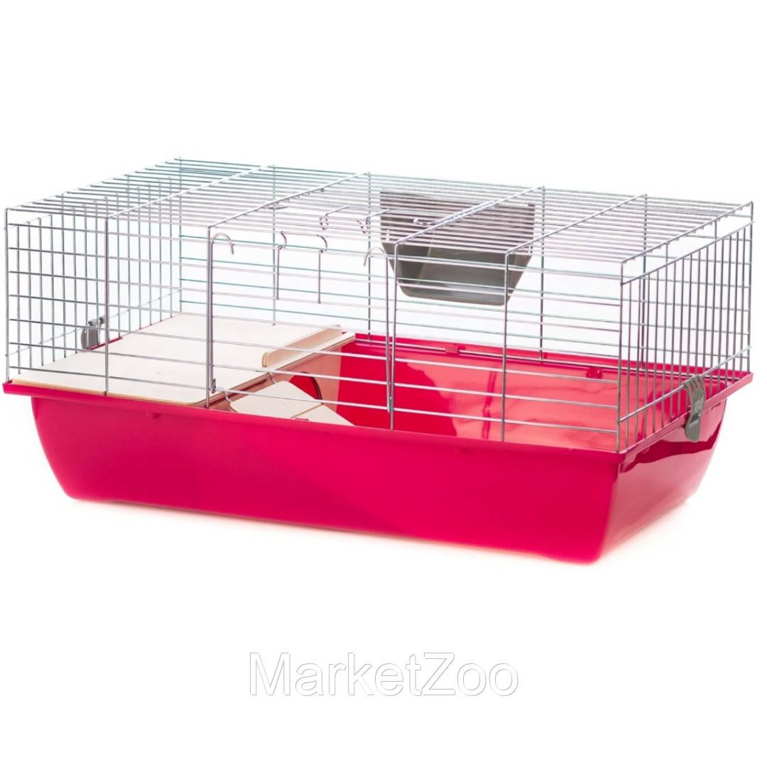 """Клетка для кролика и морской свинки Super Rabbit 60 zink,"""" Interzoo"""""""
