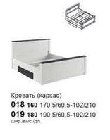018 Кровать 160 (каркас)  Модульная система  Антверпен, фото 1