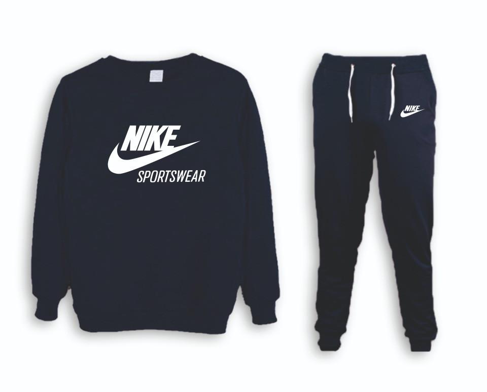 Зимний мужской спортивный костюм для тренировок Nike (Найк)