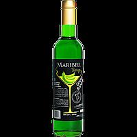 """Сироп коктейльный Maribell """"Зеленый банан"""" 700мл"""