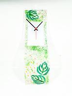 Часы настенные стеклянные Весна фьюзинг