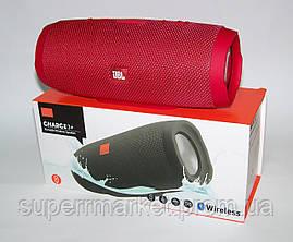 JBL Charge 3+ копия, акустика с FM Bluetooth MP3, красная, фото 2