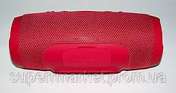 JBL Charge 3+ копия, акустика с FM Bluetooth MP3, красная, фото 3