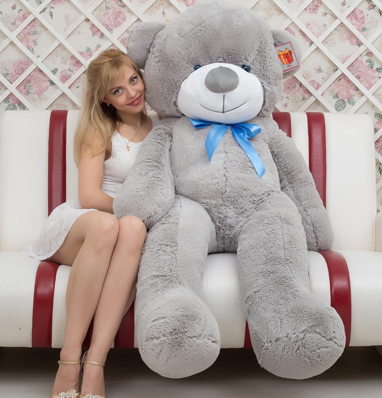 🌟🌟🌟⭐⭐❤️Плюшевый Мишка 2 метра. Большой Плюшевый Медведь. Большая Мягкая игрушка Плюшевый Мишка 200 см.