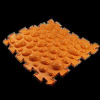 Масажний килимок Пазли Мікс Їжачок 1 елемент, фото 1