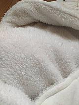 Конверт для новорожденного на выписку с роддома зимний  Б/У, фото 2
