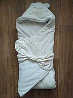Конверт для новорожденного на выписку с роддома зимний  Б/У
