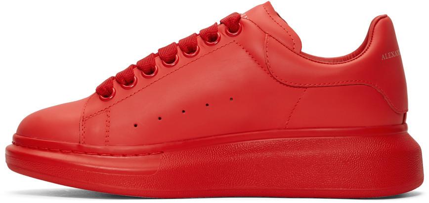 """Кросівки Alexander McQueen """"Червоні"""""""