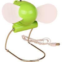 Вентилятор «USB» зелений