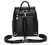 Рюкзак женский городской молодежный Style черный, фото 2