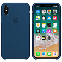 Силиконовый чехол для Apple iPhone X / XS Silicone case (Космо)