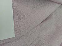 Льняная ткань с крэш эффектом, бледно-розового цвета (шир. 190 см), фото 1