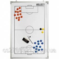 Доска тактическая  SELECT Tactics board alu - football 60х90, фото 2