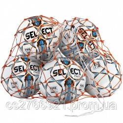 Сетка для мячей SELECT BALL NET (002), оранжевый, 6/8  мячей, фото 2