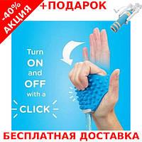 Щетка-душ для собак Pet Bathing Tool для мытья и вычесывания животных + монопод для селфи, фото 1