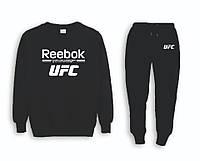 Мужской тренировочный спортивный костюм реглан UFC (ЮФС)
