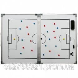 Доска тактическая складная SWIFT Foldable coach board, 45 x 60 cm