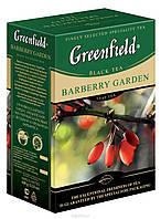 Черный Листовой чай Greenfield Barberry Garden, 100 г