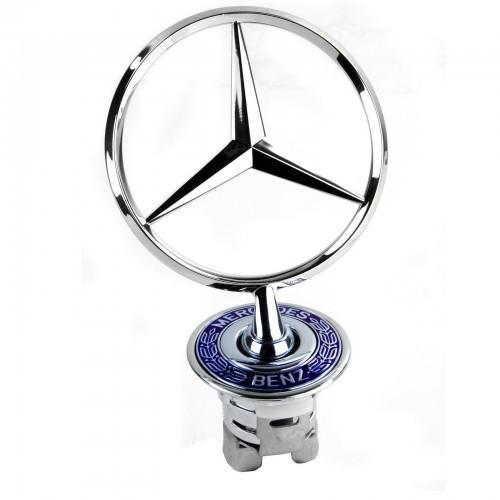 Оригінальна емблема на капот Mercedes Benz (A2108800186)