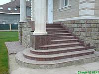 Лестницы из гранита и мрамора