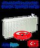 Стальной радиатор Sanica 300x1900 тип 22 боковое подключение