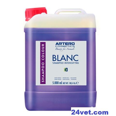 АРТЕРО БЛАНК ARTERO BLANC шампунь для белой шерсти собак и кошек, 5 л