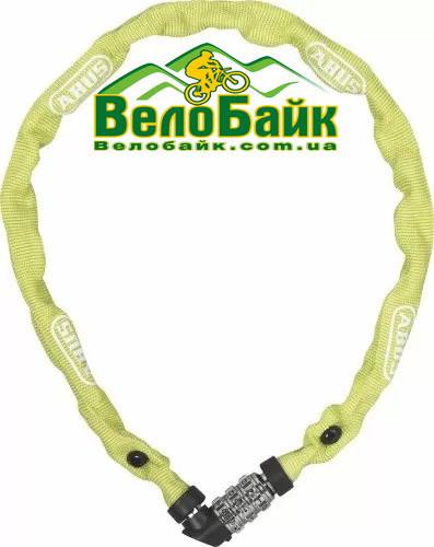 Велозамок ABUS 1200/60 Web Lime ланцюг на код салатовий 563409