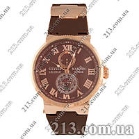 Часы Ulysse Nardin Le Locle Suisse Cappucino