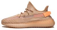 Мужские кроссовки Adidas Yeezy Boost 350 v2 Clay Реплика, фото 1