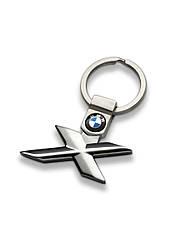 Оригинальный брелок BMW X-Series Key Ring, Silver (80272454850)