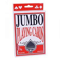 Карты игральные «Jumbo» гигант 28 см