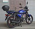 Мотоцикл SPARK SP125C-2XWQ (красный, синий, оранжевый, серый) + Доставка бесплатно, фото 9
