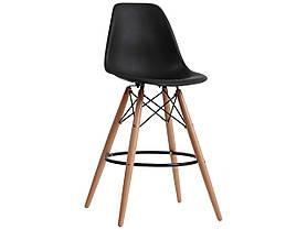 Полубарный стул Nik Eames, черный