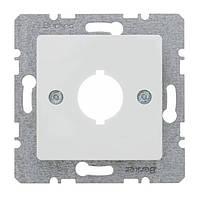 Накладка для сигнальных и контрольных приборов Berker S.1 Полярная Белизна (143109)