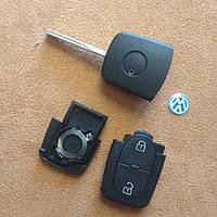 VW Volkswagen корпус ключа 2 кнопки CR2032
