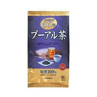 Чай Пуэр ORIHIRO Pu'er Tea 60 пак