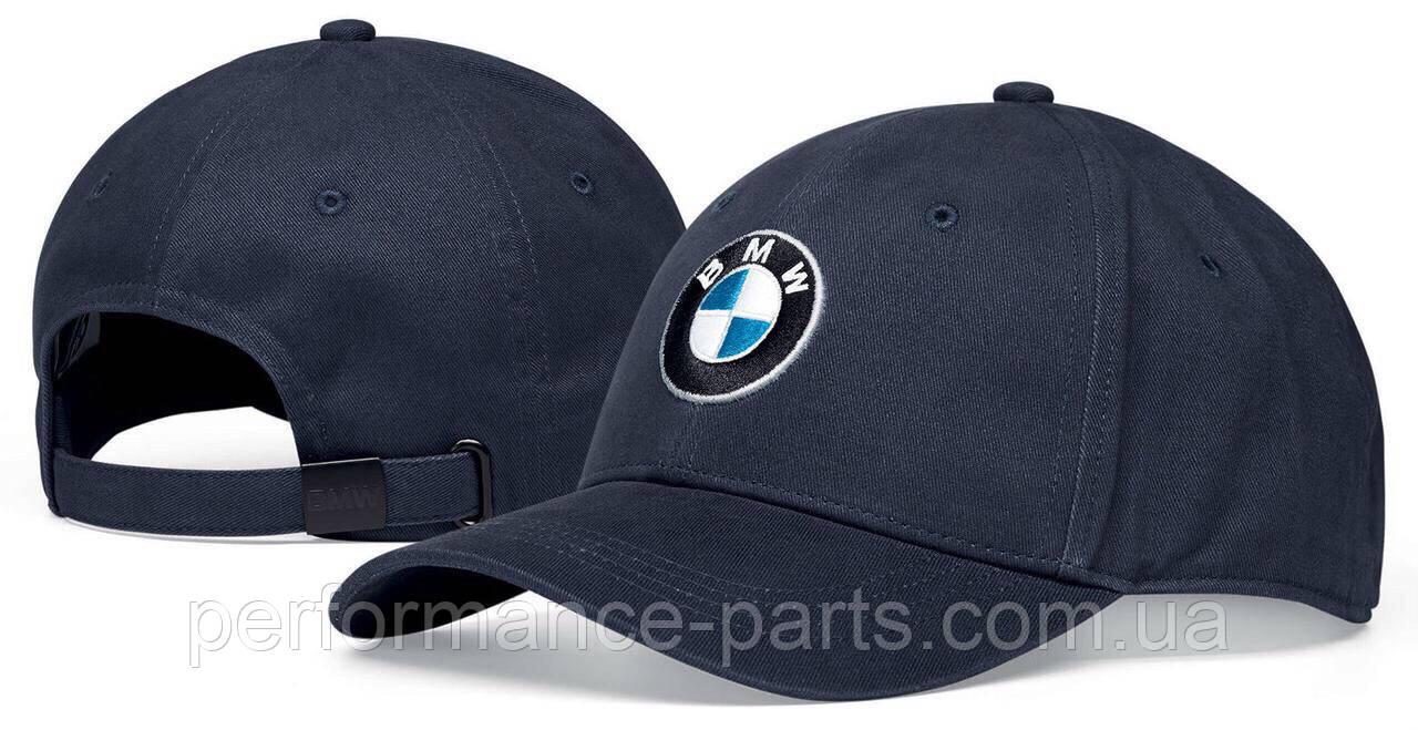 Бейсболка унисекс BMW Logo Cap, Dark Blue, артикул 80162454620