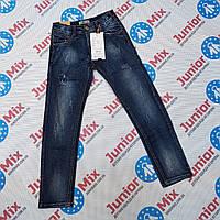 Подростковые темные джинсы для мальчиков оптом GRACE