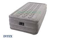 """Односпальная надувная кровать Intex 67952 """"Ultra Plush"""" (191-99-46 см.), фото 1"""