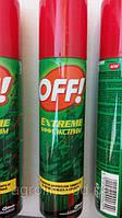 Аэрозоль OFF  Экстрим эффективная защита от комаров, клещей
