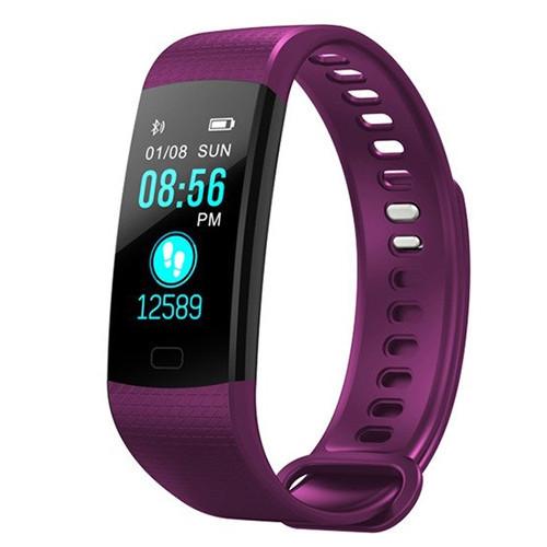 Фитнес браслет (Трекер) Goral Y5 Фиолетовый