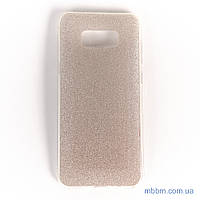 Накладка Remax Glitter Silicone Samsung Galaxy S8 Plus gold