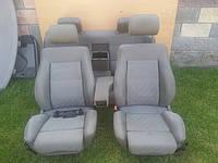 Светло-серый  салон, сидения с подогревом Audi 100 A6 C4 91-97г, фото 1