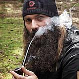 Курительная трубка ручной работы KAF218 Churchwarden на длином мундштуке из дерева груши прямоток, фото 8