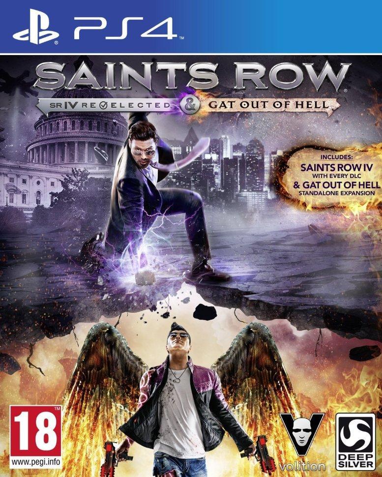 Игра для игровой консоли PlayStation 4, Saints Row: Gat Out of Hell (БУ)
