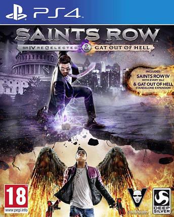 Игра для игровой консоли PlayStation 4, Saints Row: Gat Out of Hell (БУ), фото 2
