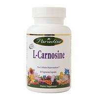 L-карнозин (L-Carnosine) Paradise Herbs 500 мг 60 капсул